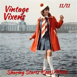 Jewelry - WEDNESDAY 11/11 Vintage Vixens Sign Up Sheet